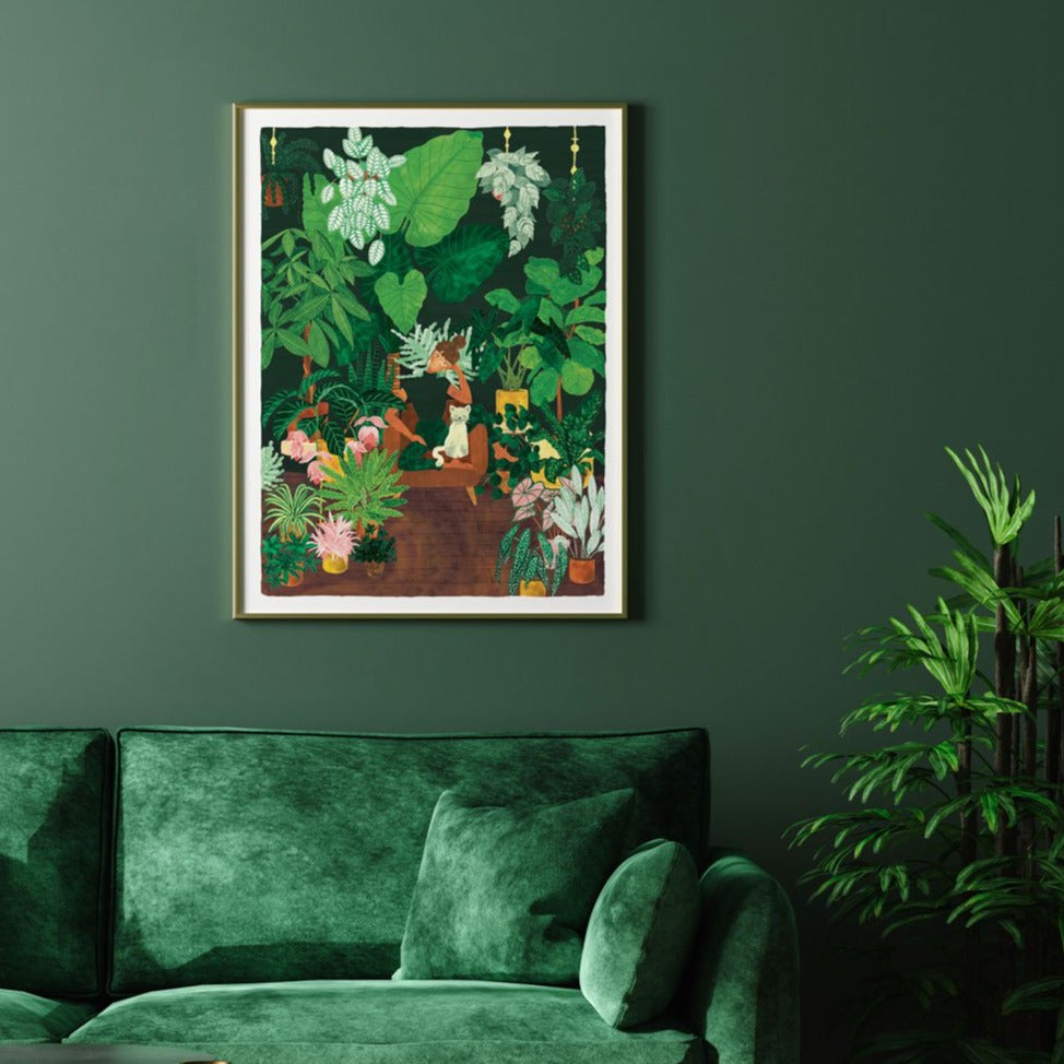 Affiche All The Ways to Say - Plant addict lady