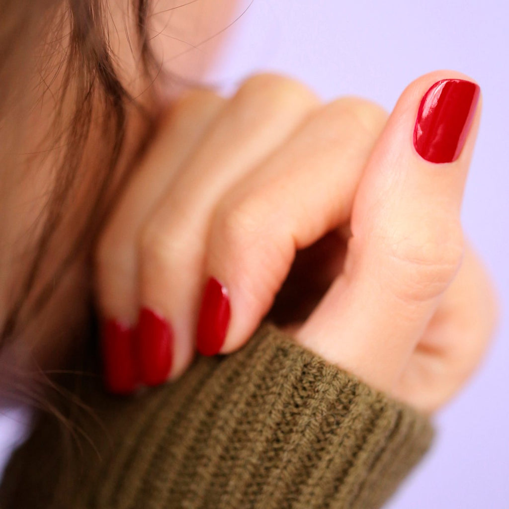 Vernis Green Manucurist - Red Cherry