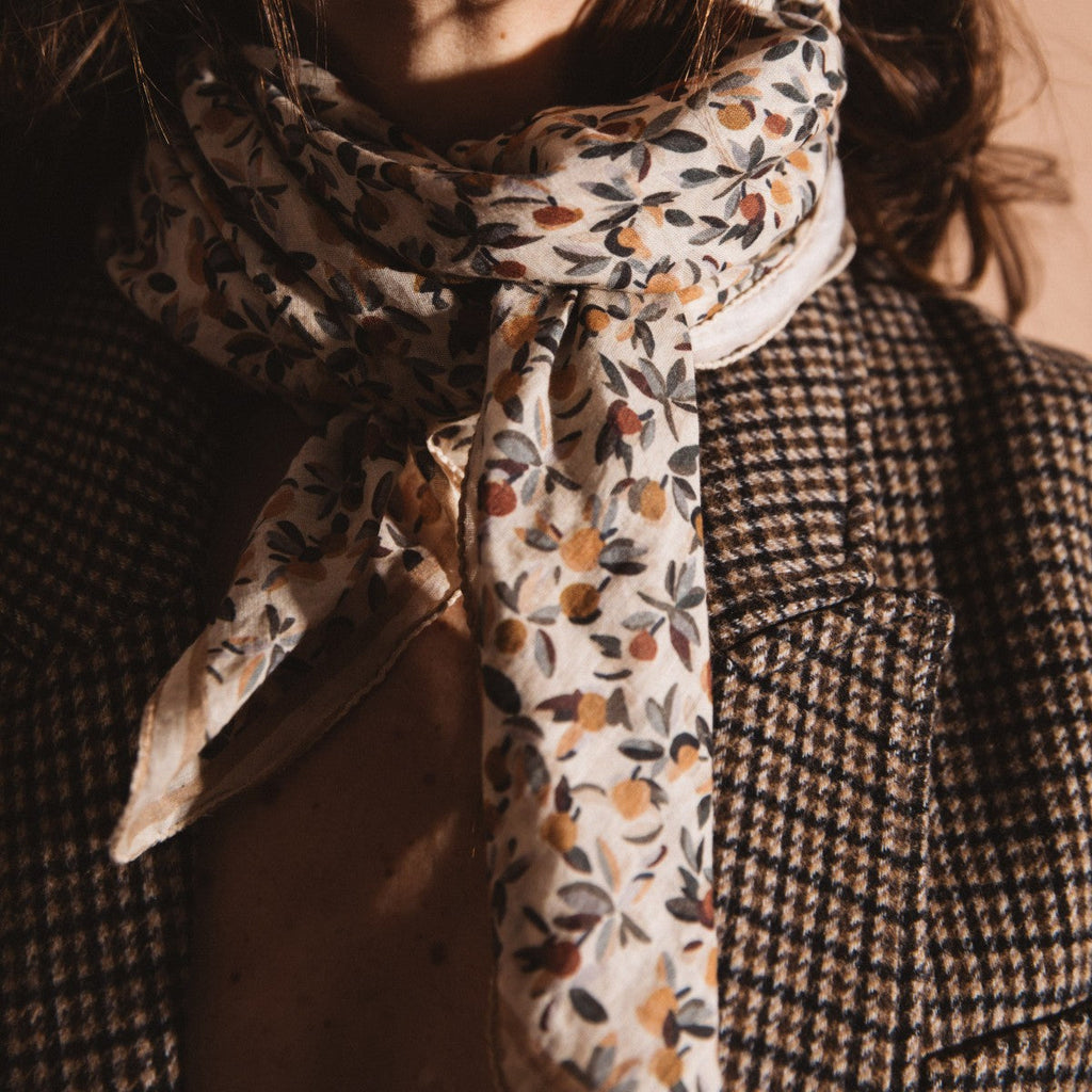 Grand Foulard Gabrielle Paris - Bloom Miel