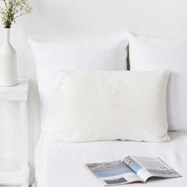 Taie d'oreiller Magic Linen - Blanc