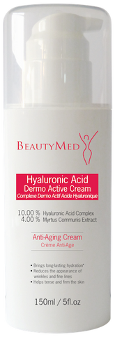BeautyMed - Dermo Active Cream Hyaluronic Acid 150ml KABINE