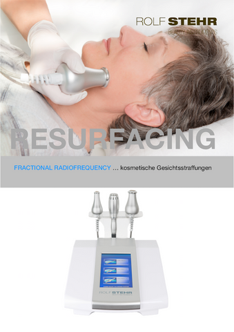 RS Beauty Instruments - Fractional Radiofrequency - Endkunden-Leaflets (10 Stk.)
