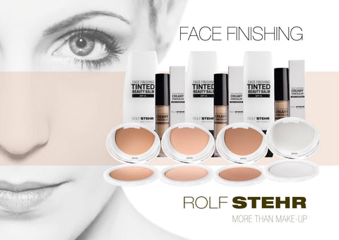 "RS Make up - Display Rückwand A4 Quer ""Face Finishing"""