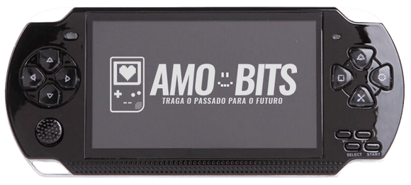 AmoBits Black Pocket ❤ + de 10000 games!