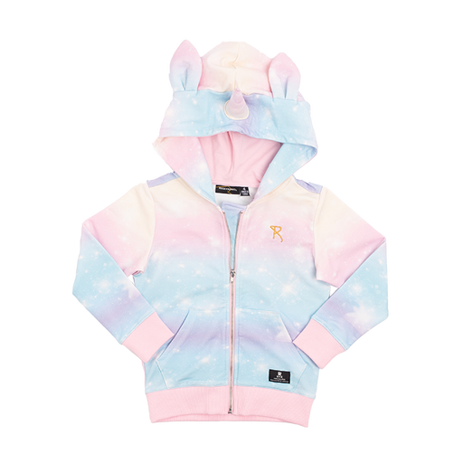 ROCK YOUR KID UNICORN HOODIE MULTI (PRE ORDER)