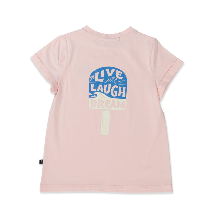 HELLO STRANGER LIVE LAUGH DREAM TEE