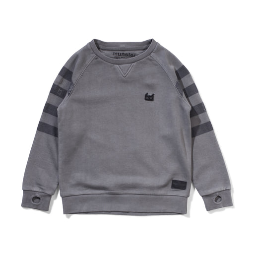 MUNSTER HOLIDAY CREW WASHED CHARCOAL (PRE ORDER)