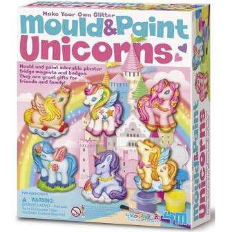 JEANNY MOULD & PAINT UNICORN SET