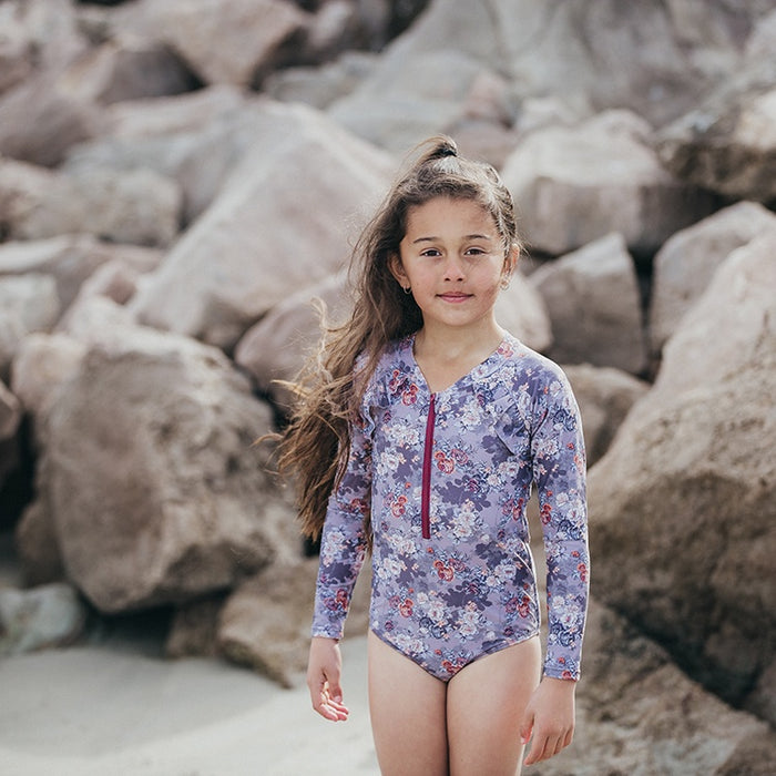 THE VINTAGE PLUME JESSICA SWIMSUIT - SECRET GARDEN