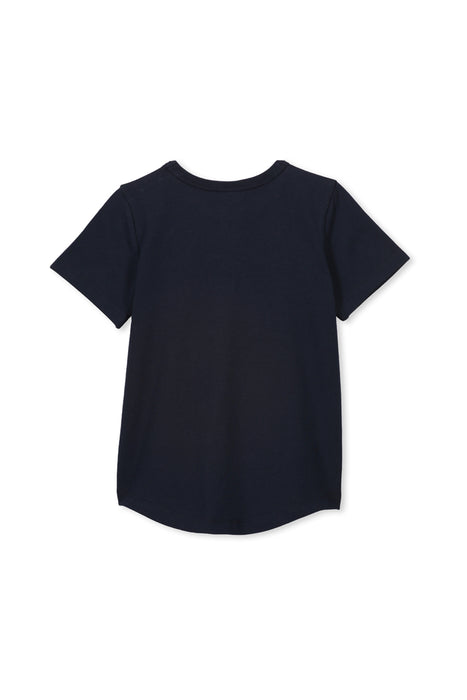 MILKY FRESH TEE MIDNIGHT BLUE