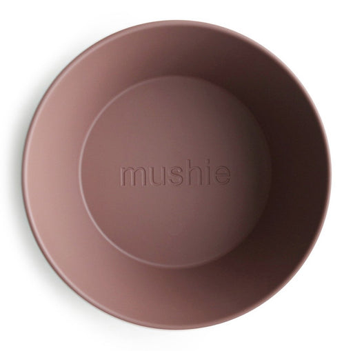 MUSHIE DINNERWARE ROUND BOWL SET OF 2 - WOODCHUCK