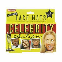 PARTY CELEBRITY FACE MATS GAME