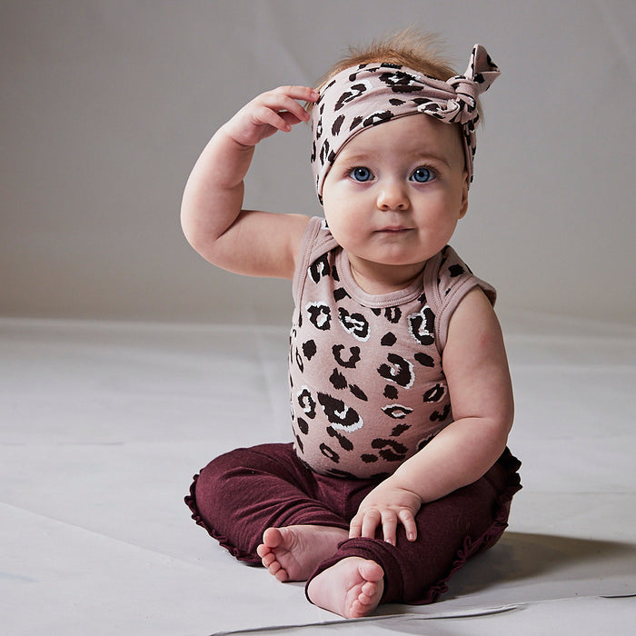 DARCY HEADBAND BLUSH CHEETAH