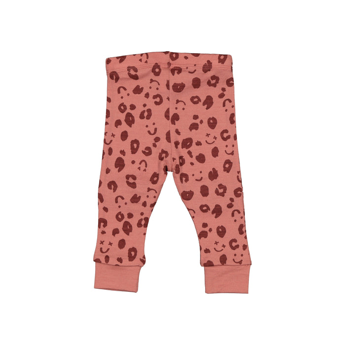 LFOH SLASHER LEGGINGS ROSEBUD CHEETAH