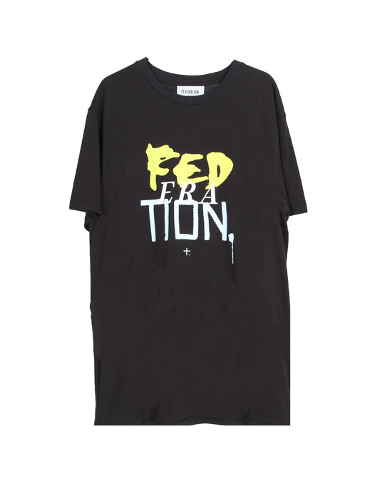 MINI FED RAD TEE ERA BLACK