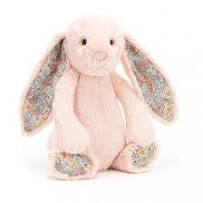 JELLYCAT BLOSSUM BASHFUL MEDIUM BUNNY - BLUSH