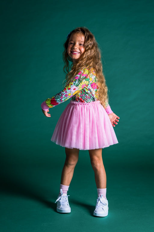 ROCK YOUR KID ELLIOT CIRCUS DRESS FLORAL (PRE ORDER)