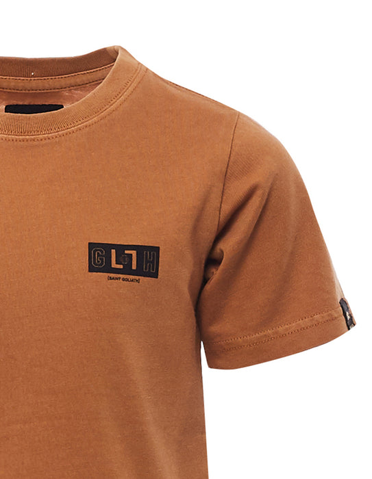 ST GOLIATH UNION TEE - BROWN