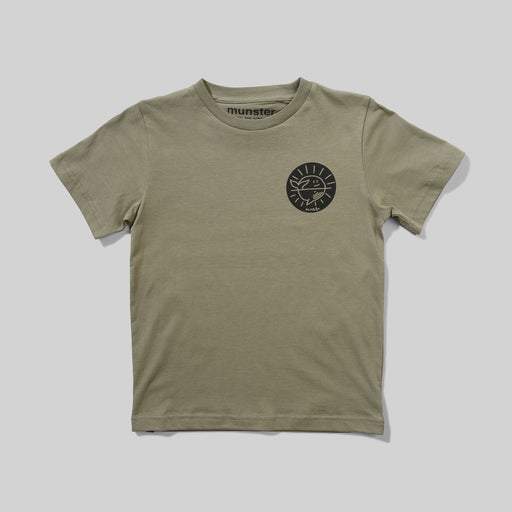 MUNSTER SUN AND SEA TEE OLIVE