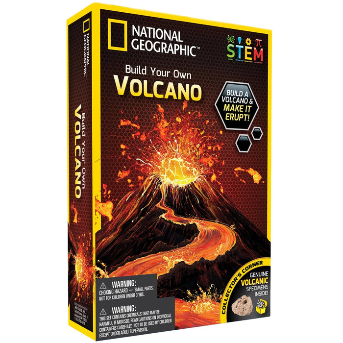 NATIONAL GEOGRAPHIC - BUILD YOUR OWN VOLCANO