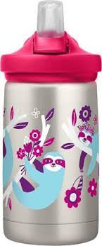CAMELBAK EDDY DRINK BOTTLE 400MLS - STAINLESS STEEL FLOWERCHILD SLOTH