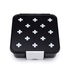 LITTLE LUNCH BOX CO BENTO FIVE - WHITE CROSSES