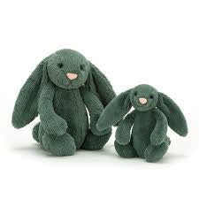 JELLYCAT BASHFUL BUNNY SMALL - FOREST