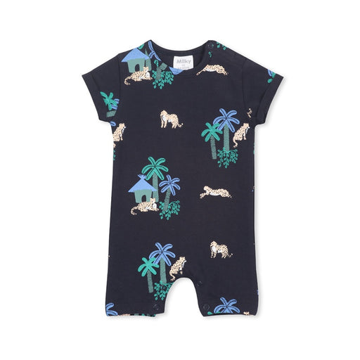 MILKY JUNGLE ROMPER