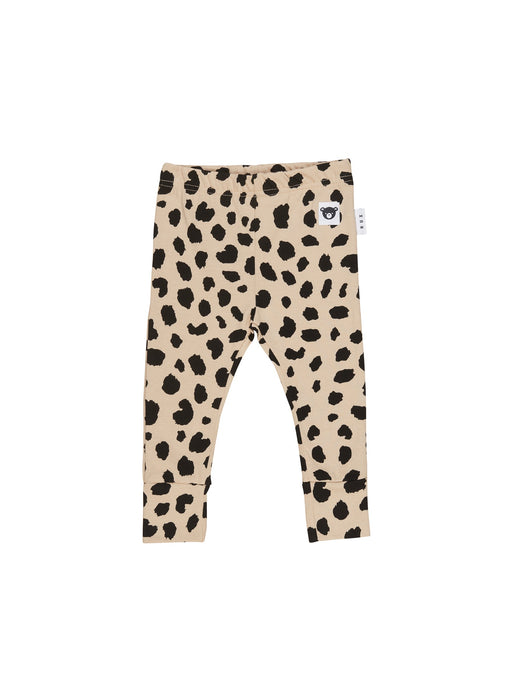 HUXBABY ANIMAL SPOT LEGGING SAND