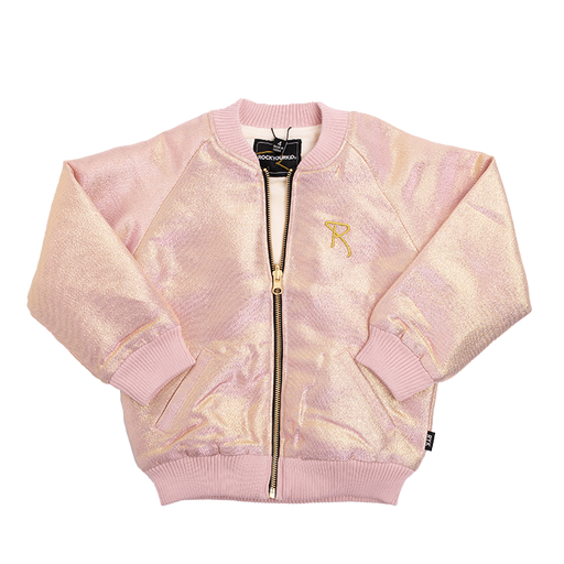 ROCK YOUR KID LIGHT GOLD/PINK SHIMMER JACKET (PRE ORDER)