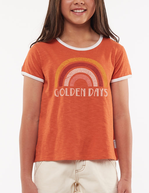 EVE GIRL GOLDEN DAYS TEE SPICE