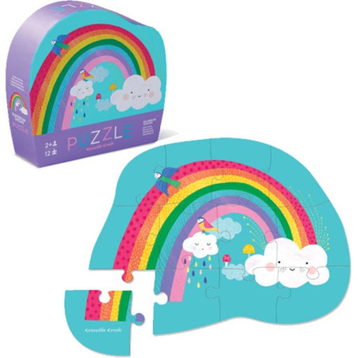 CROCODILE CREEK RAINBOW DREAM PUZZLE - 12 PCS