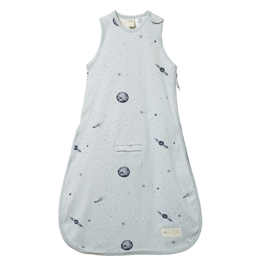 NATURE BABY ORGANIC COTTON & MERINO SLEEPING BAG - GALAXY PRINT