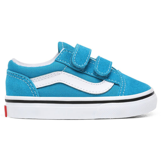 VANS TODDLER OLD SKOOL VELCRO CARIBBEAN SEA