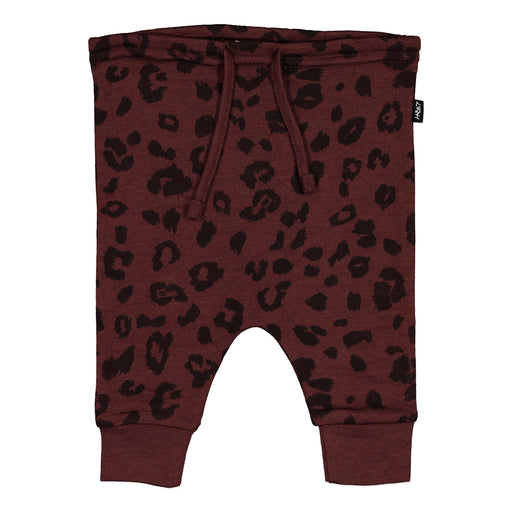 ASHER DROPCROTCH PANT MULBERRY CHEETAH