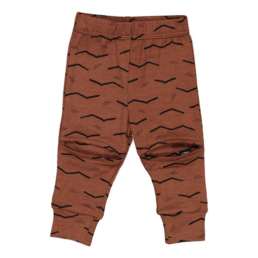 SLASHER LEGGINGS RUSSET LINES