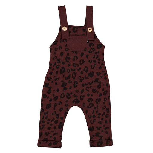 EDISON DUNGAREE MULBERRY CHEETAH