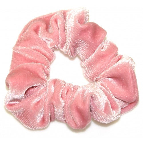 GOODY GUMDROPS BLUSH VELVET SCRUNCHIE