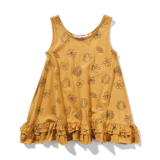 MISSIE MUNSTER CALIPO DRESS - MUSTARD