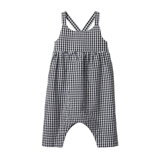 NATURE BABY GINGHAM PICNIC SUIT