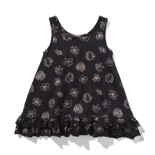 MISSIE MUNSTER CALIPO DRESS - SOFT BLACK