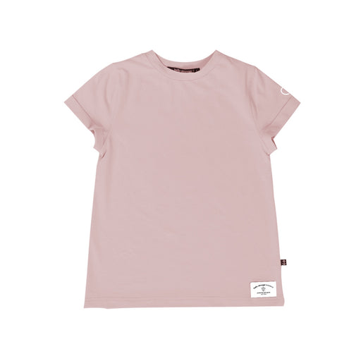 HELLO STRANGER GIRLS SS CLASSIC TEE - MUTED PINK
