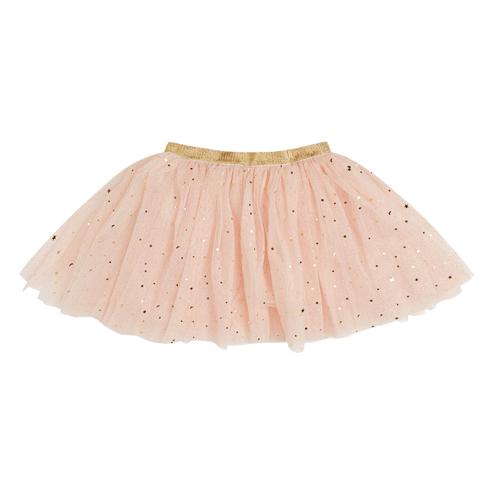 ROCK YOUR KID PINK STAR SEEKER SKIRT
