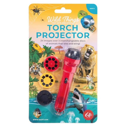 IS GIFT TORCH PROJECTOR - WILD THINGS
