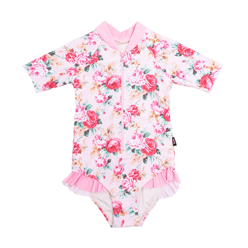 ROCK YOUR KID ROSE ESSENCE S/SLEEVE ONE PIECE
