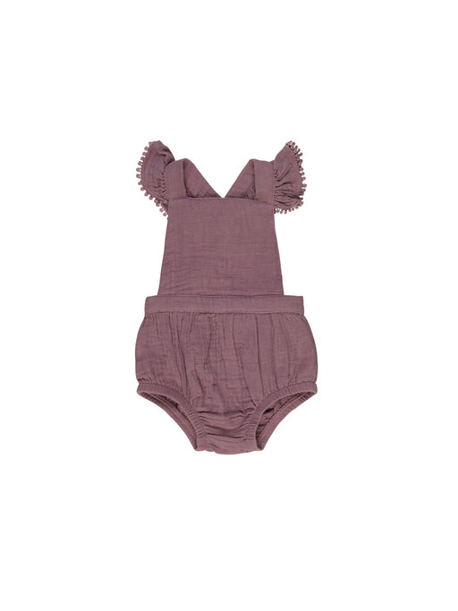 HUXBABY MULBERRY FRILL PLAYSUIT