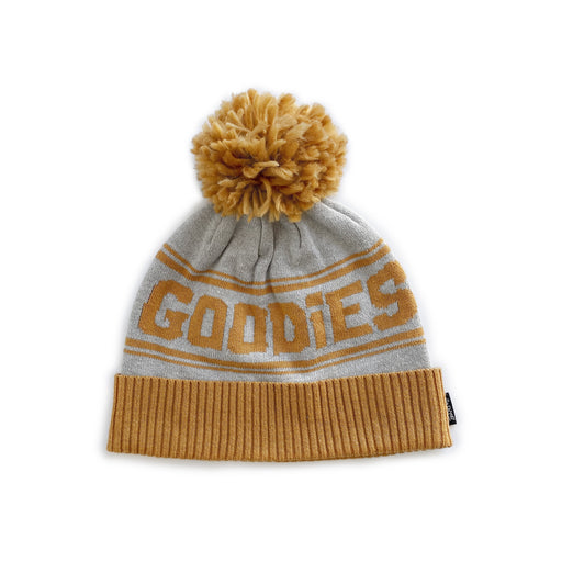 POP FACTORY GOODIES BEANIE - GREY AND TAFFY