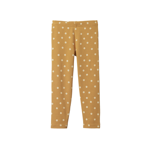 NATURE BABY LEGGINGS 2-4 YRS - CHAMOMILE STRAW PRINT