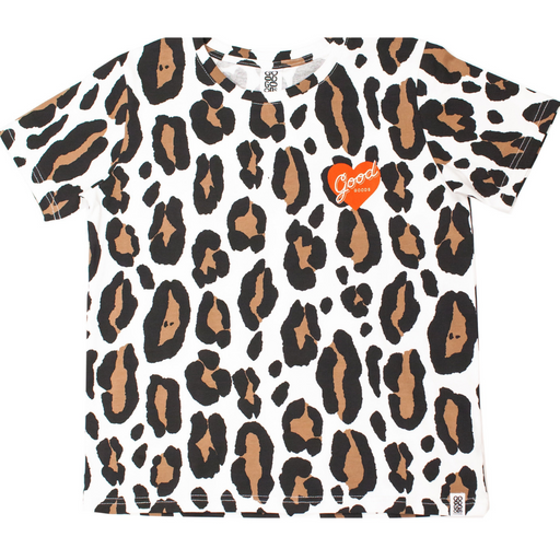 GOOD GOODS ISSY TEE LEOPARD