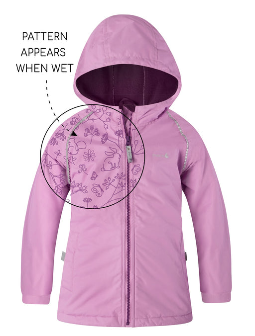 THERM SPLASHMAGIC STORM JACKET GIRLS LILAC